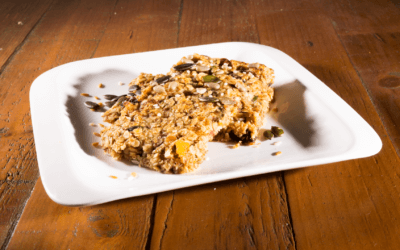 Healthy Flapjack Breakfast Bars