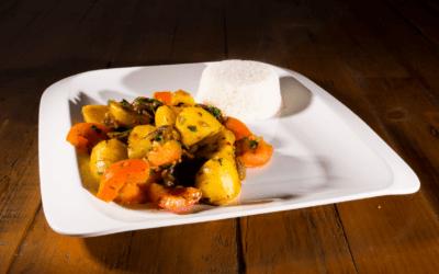 Vegan Hot Potato Curry