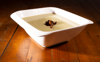 Leek, Bacon and Potato Soup