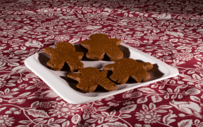 Naughty Vegan Gingerbread Men