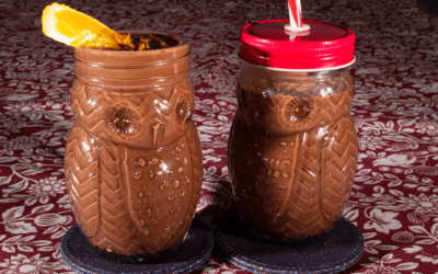 Raw Cacao Milkshakes (with Orange)
